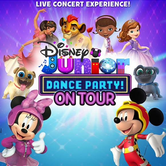 Disney Junior Dance Party at Abraham Chavez Theatre