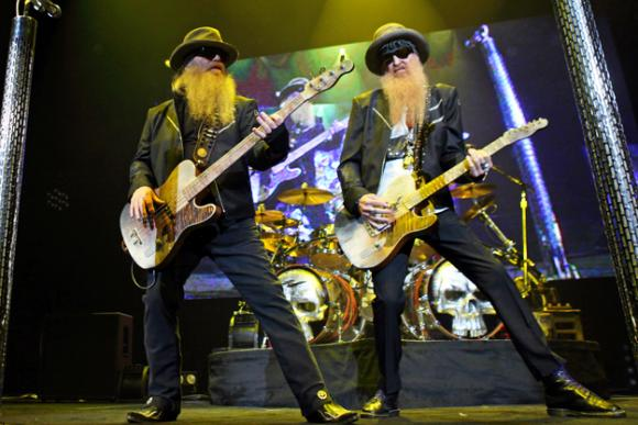 ZZ Top at Abraham Chavez Theatre
