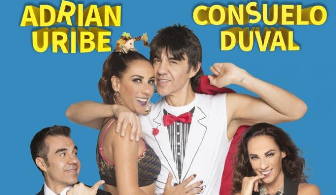 Adrian Uribe & Consuelo Duval at Abraham Chavez Theatre