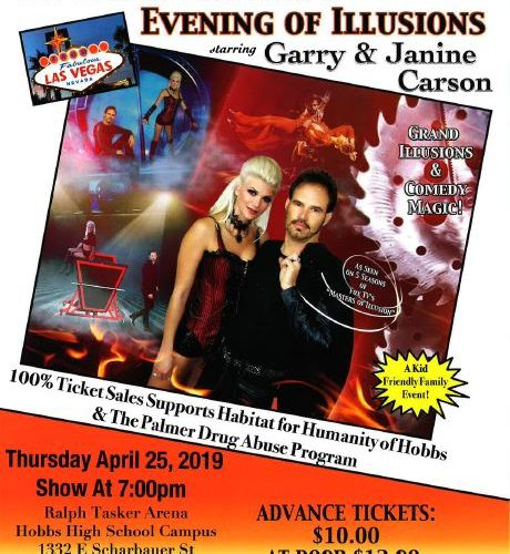 Escape Reality: Evening of Illusions at Abraham Chavez Theatre