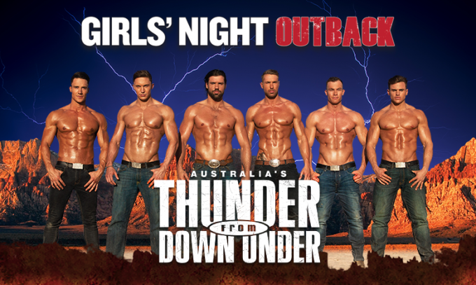 Thunder From Down Under [POSTPONED] at Abraham Chavez Theatre