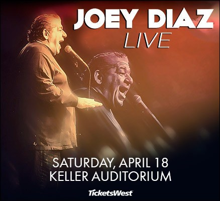 Joey Diaz [CANCELLED] at Abraham Chavez Theatre