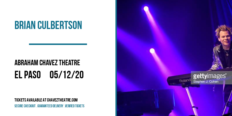 Brian Culbertson [CANCELLED] at Abraham Chavez Theatre