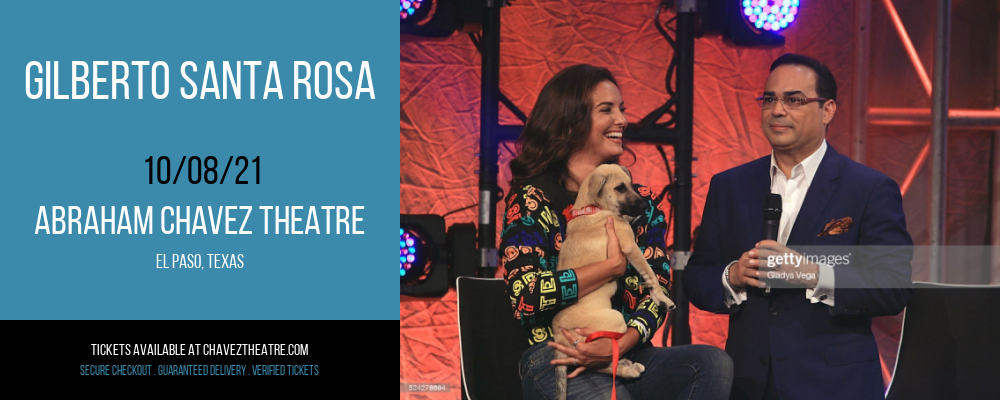 Gilberto Santa Rosa at Abraham Chavez Theatre